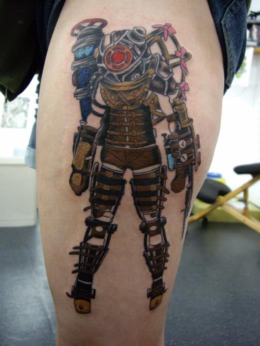 79 Best Bioshock Tattoo Mood Board Images On Pinterest Ideas And Designs