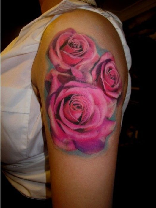 Top 25 Best Pink Rose Tattoos Ideas On Pinterest Pink Ideas And Designs