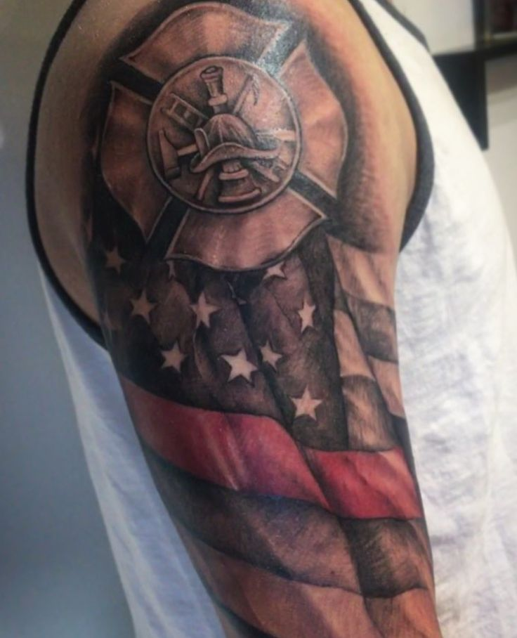709 Best Firefighter Tattoos Images On Pinterest Ideas And Designs