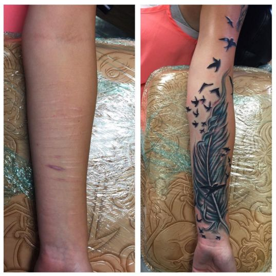 Best 25 Tattoo Over Scar Ideas On Pinterest Arm Tattoos Ideas And Designs