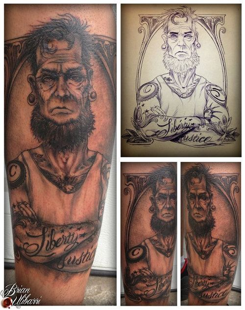 32 Best Dead Presidents Tattoos For Men Images On Ideas And Designs