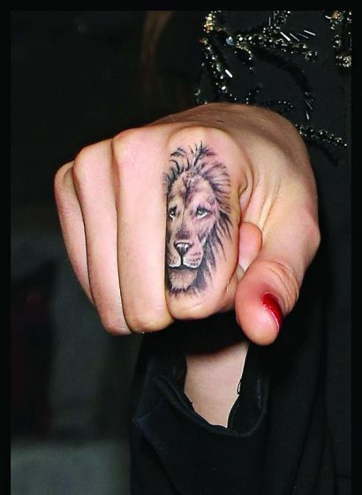 Best 25 Lion Finger Tattoos Ideas On Pinterest Matching Ideas And Designs