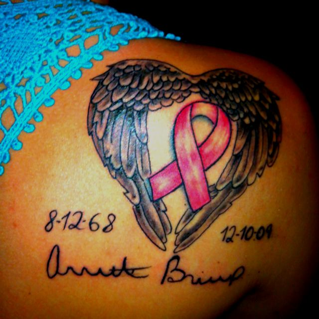 Best 25 Cancer Memorial Tattoos Ideas On Pinterest Ideas And Designs
