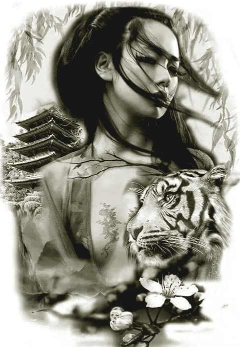 50 Amazing Geisha Tattoos Designs And Ideas For Men And Ideas And Designs