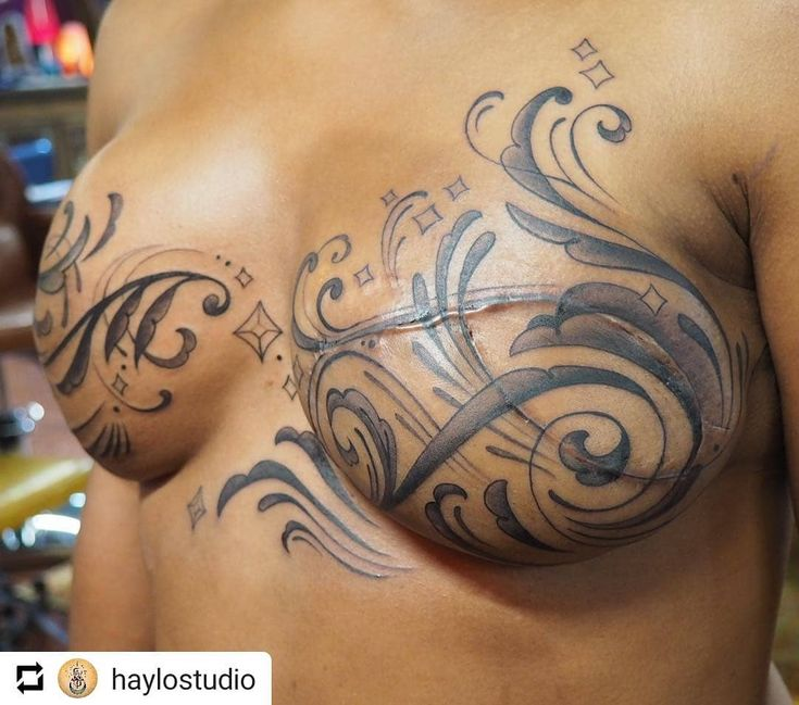 Repost Haylostudio • • • Organic Beauty Hayley's Br**St Ideas And Designs