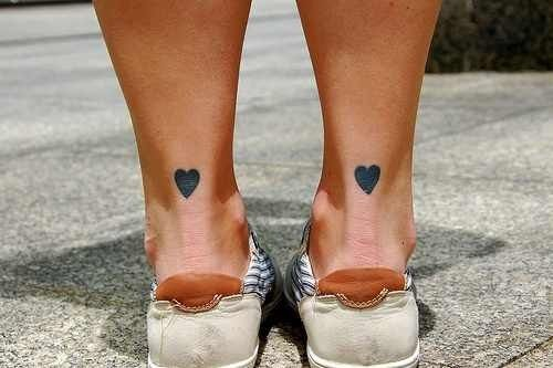 Achilles Tendon Heart Tattoo Tattoos I D Get Ideas And Designs