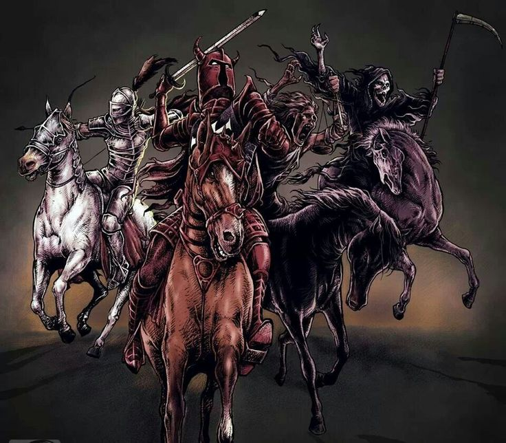 21 Best Four Horsemen Tattoo Ideas Images On Pinterest Ideas And Designs