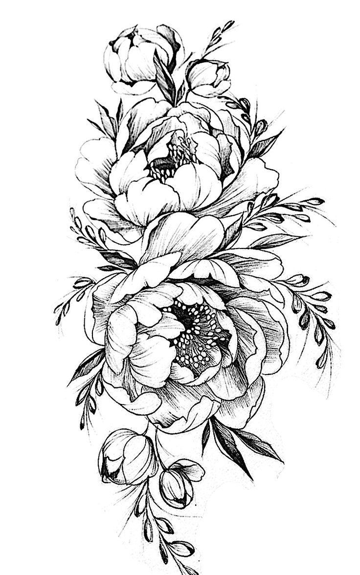 Pattern Flower Drawing With Colour Best 25 Flower Tattoo Ideas And Designs