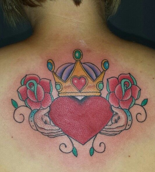Claddagh Tattoo Friendship Love Loyalty Done By Jamie Ideas And Designs