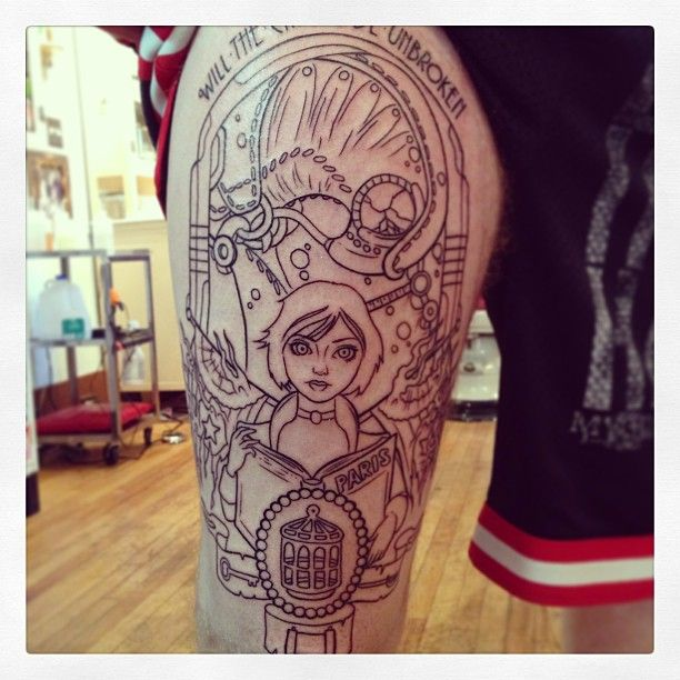 Will The Circle Be Unbroken… Bioshock Tattoos Today Ideas And Designs