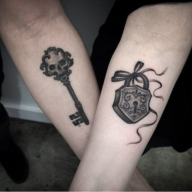 Key And Lock Tattoo Couples Tattoo Key Tattoo Designs Ideas And Designs