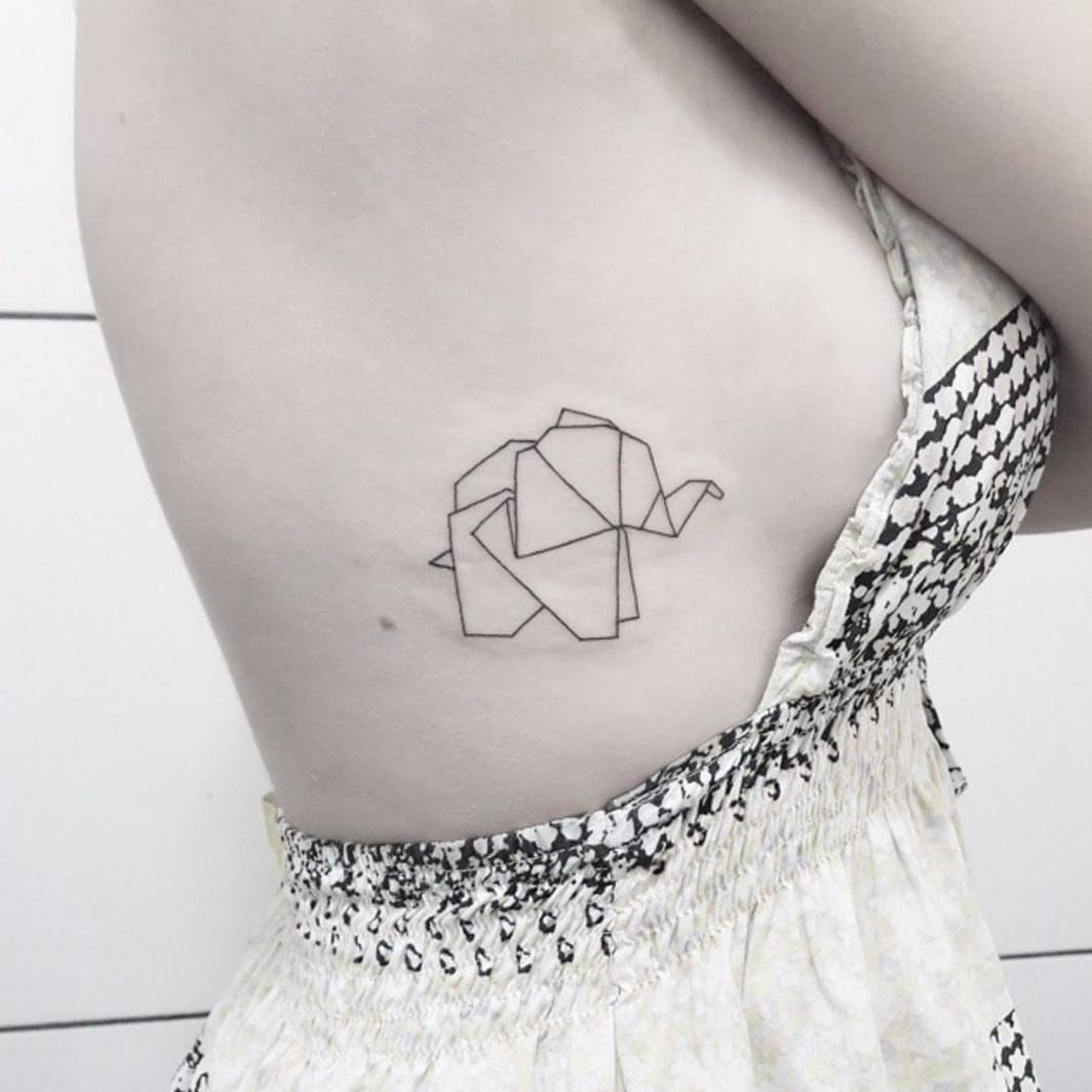 From Top To Bottom 10 Bodyparts To Get An Elephant Tattoo Ideas And Designs