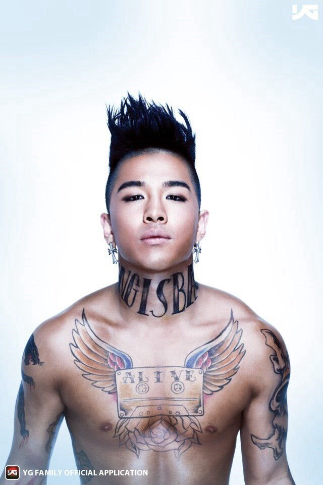 Tae Yang Fantastic Baby Tattoos Design Bigbang Kpop Ideas And Designs