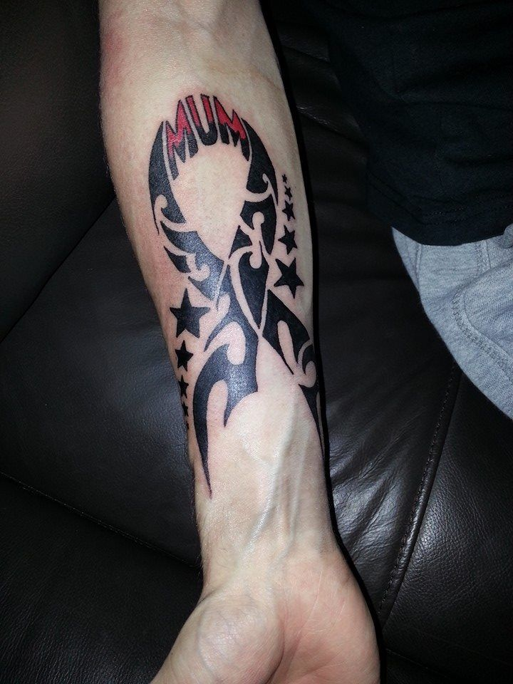 Tribal Cancer Ribbon Cancer Tattoos Cancer Ribbon Ideas And Designs