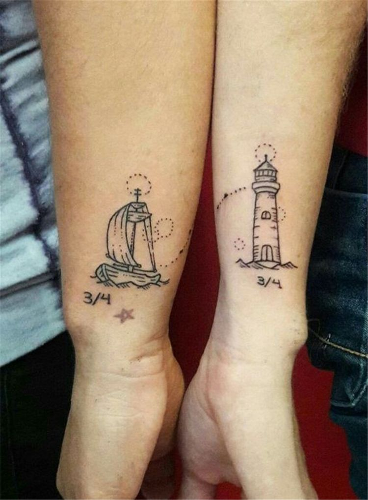 Matching Couple Tattoos Ideas To Try 2019 Tattoos Ideas And Designs