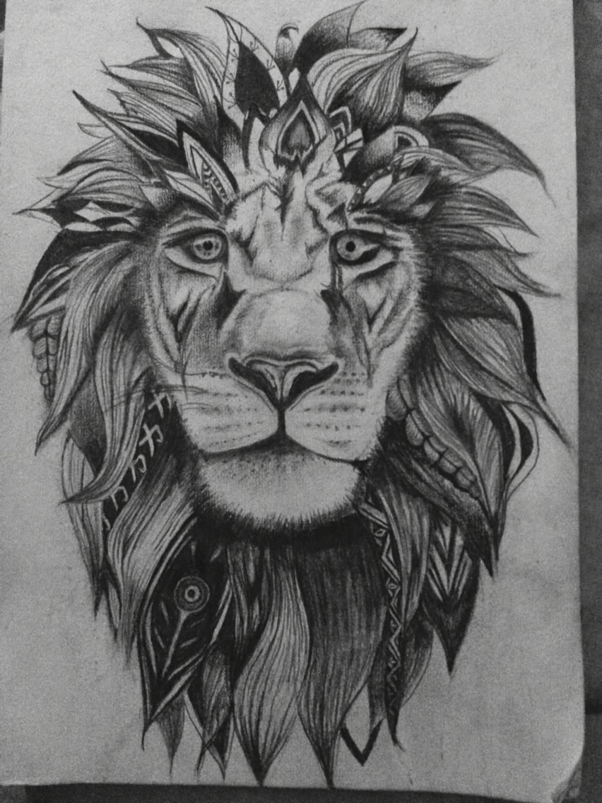 Lion Tattoo Tattoos By Me Pinterest Lion Tattoo Ideas And Designs