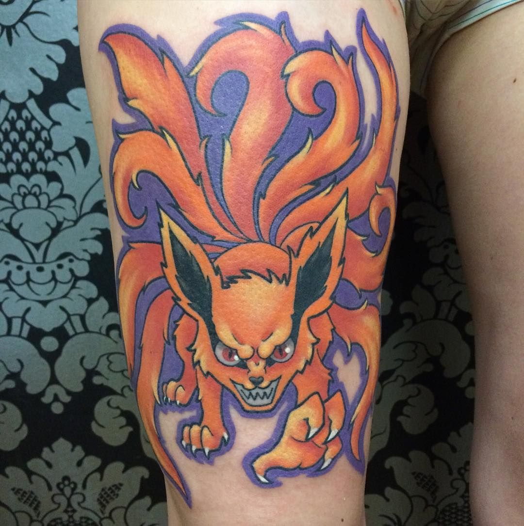 Nine Tailed Fox From Naruto One Of My All Time Favorite Ideas And Designs