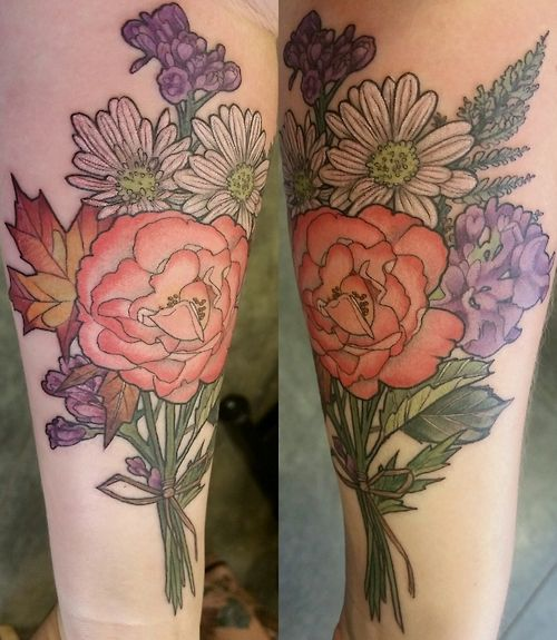 Floral Bouquet By Alice Kendall At Her Shop Wonderland Ideas And Designs