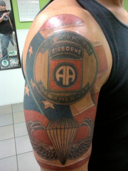 Airborne Wings Tattoo Cool Tattoos Army Tattoos Ideas And Designs