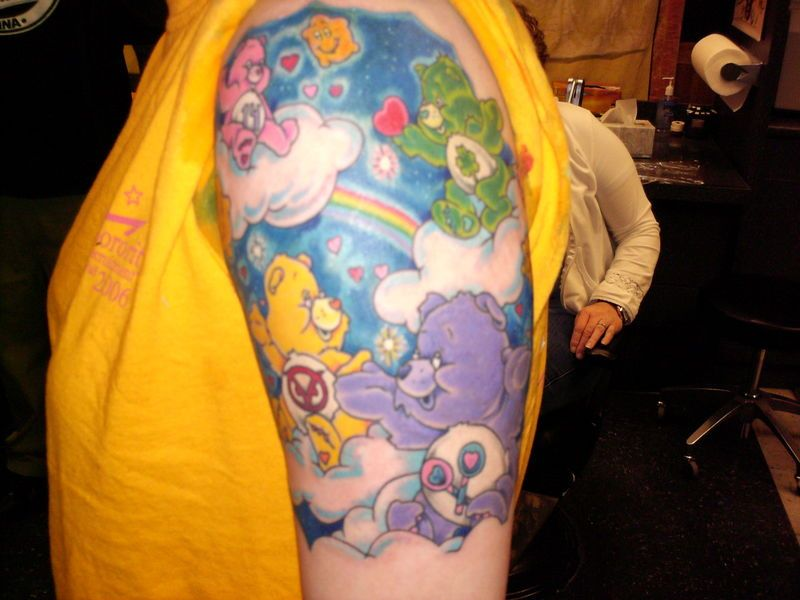 Pin By Heather Bystrzak On Body Modification Care Bear Ideas And Designs