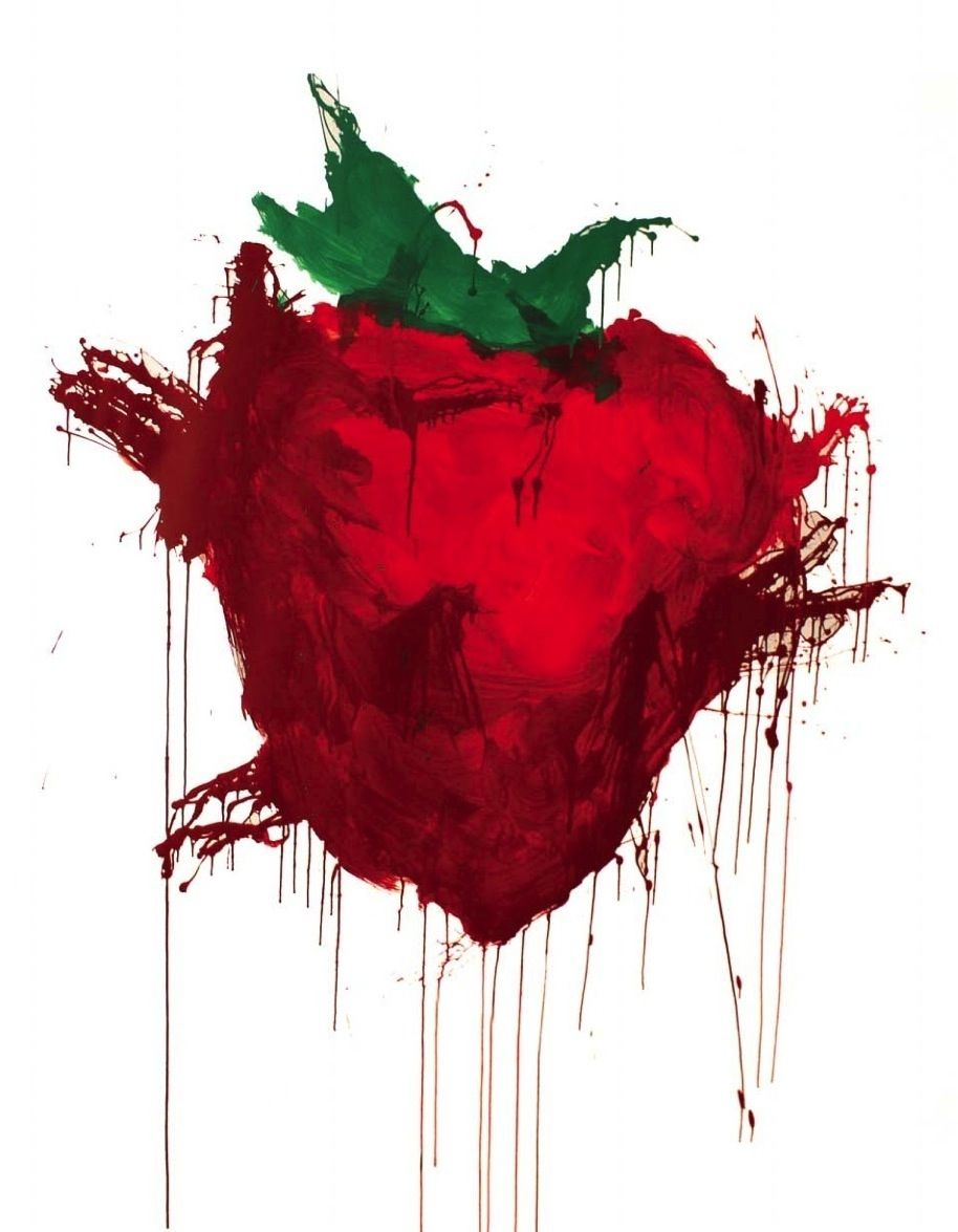 Across The Universe Strawberry Painting Google Search Ideas And Designs