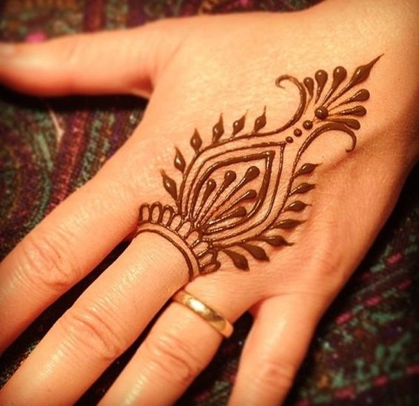 60 Simple Henna Tattoo Designs To Try At Least Once Ideas And Designs