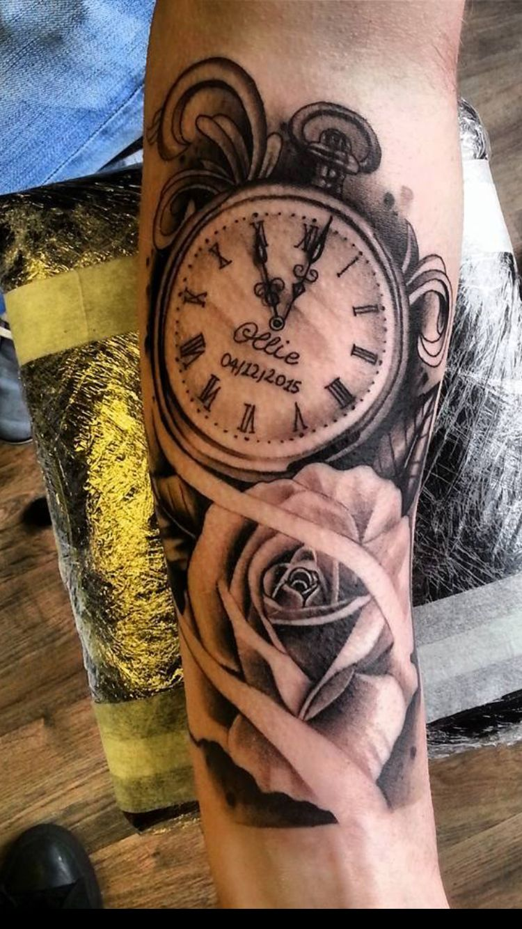 Oh Em Gee Tale As Old As Time Watch Tattoo Tatted Life Ideas And Designs