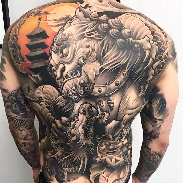 Japanese Back Tattoo Art Fantasy And Fantasy Ideas And Designs
