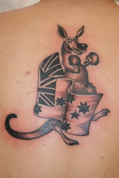 Australian Flag And Kangaroo Picture Dad S Tattoo Ideas Ideas And Designs