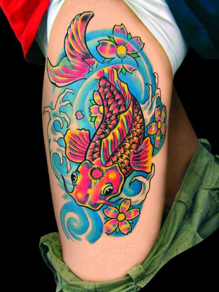 Bright Color Tattoos Designs Tattoo With Bright Colors Ideas And Designs