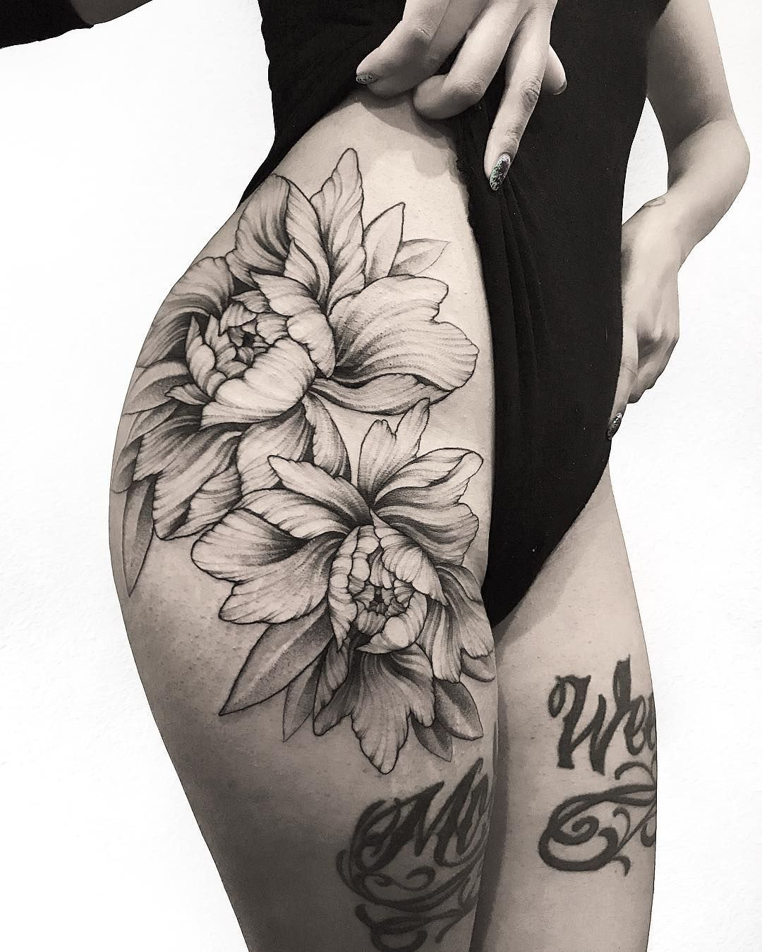 Large And Beautiful Peonies Tattoos And Art Tattoos Ideas And Designs