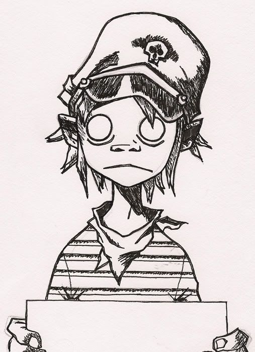 How To Draw The Gorillaz Google Search Art Gorillaz Ideas And Designs