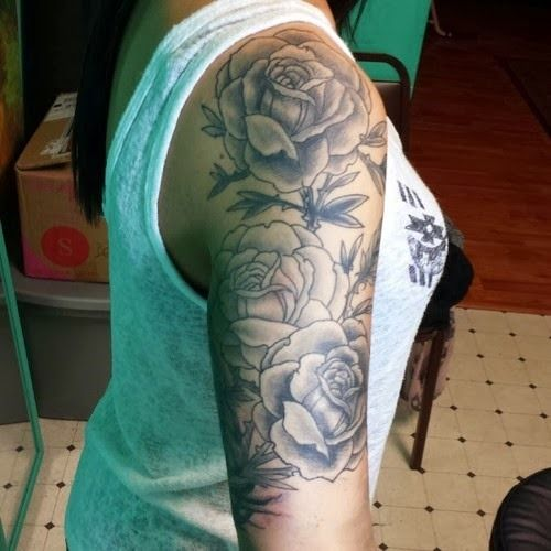 30 Black Rose Tattoo Ideas 13 Shoulder Tattoos Ideas And Designs