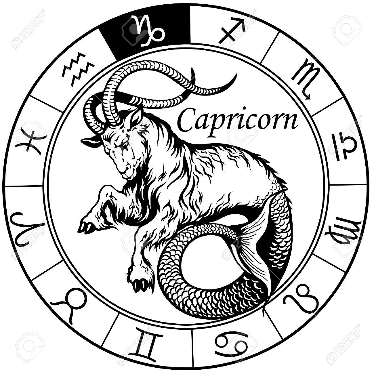50 Best Capricorn Tattoo Designs With Meanings For Men Ideas And Designs