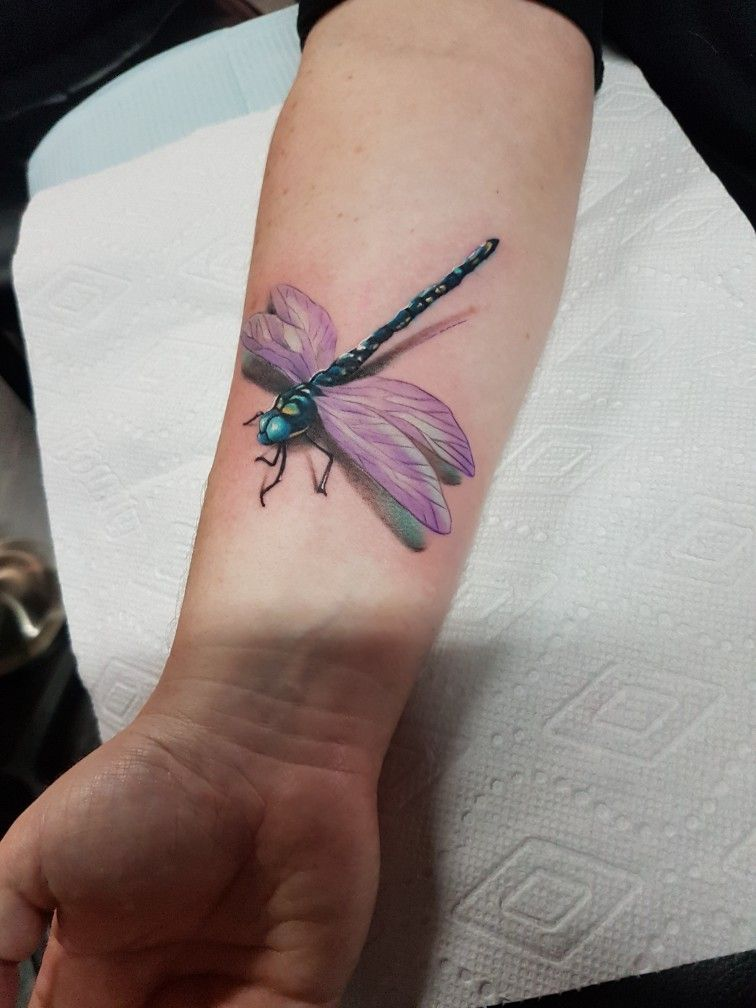 Dragonfly 3D Tattoo Tattoo Ideas Tattoos Dragonfly Ideas And Designs