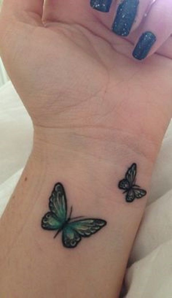 65 3D Butterfly Tattoos Butterfly Tattoos Pinterest Ideas And Designs