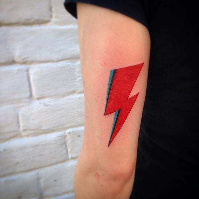 David Bowie Lightning Aladdin Sane Ziggy Stardust Rock Ideas And Designs