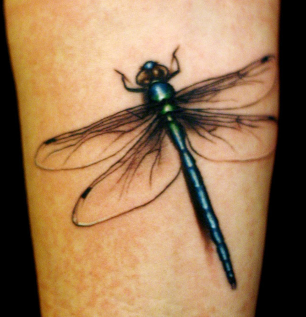 3D Dragonfly Tattoos Below You Ll Find More Complete Ideas And Designs