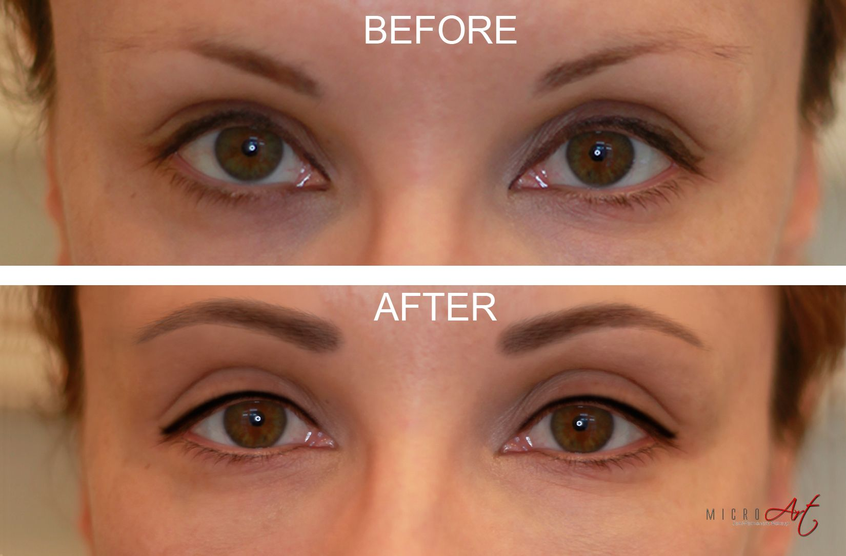 3D Eyebrows Eyeliner By Microart Semi Permanent Makeup Ideas And Designs