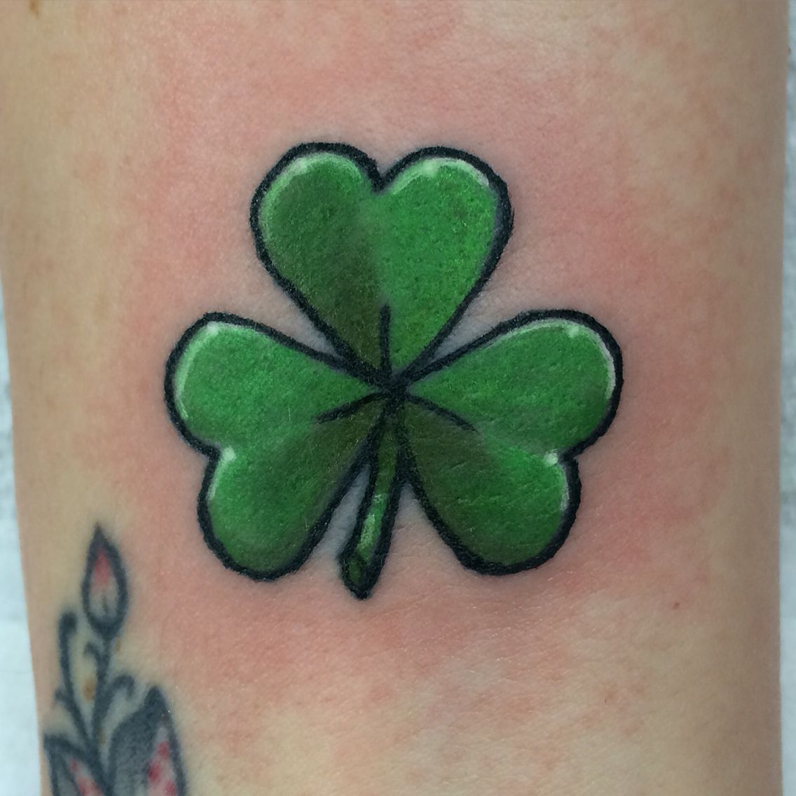 Shamrock Tattoo … Tattoos Tattoos Shamrock Tattoos Ideas And Designs