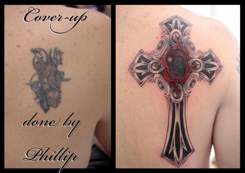 Lower Back Cover Up Tattoos Big Cross Tattoo Cover Up Ideas And Designs