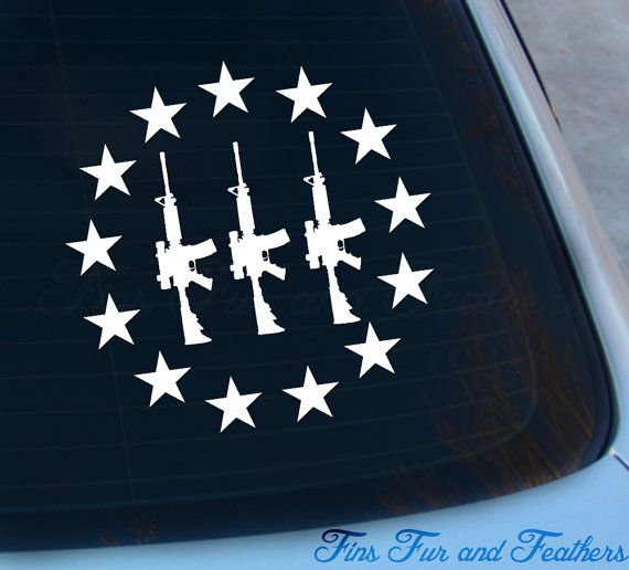 3 Percenter Decal Three Percenter Sticker By Ideas And Designs