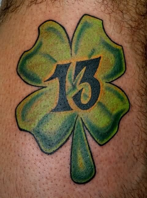 Old School Shamrock Tattoo A Tat Clover Tattoos Four Ideas And Designs