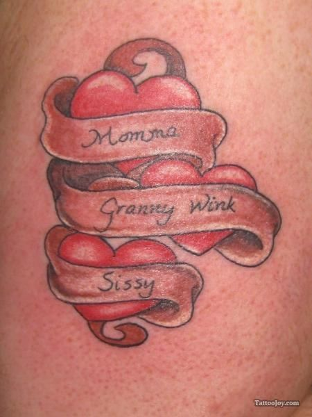 Tattoo Heart With A Banner Google Search Tatoos Ideas And Designs