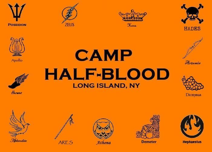 Percy Jackson Camp Half Blood Stencil Man That Started Ideas And Designs