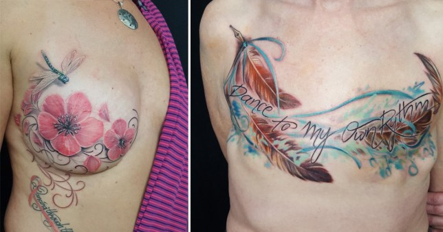 Tattoo Artist Turns Mastectomy Scars Into Amazing Designs Ideas And Designs