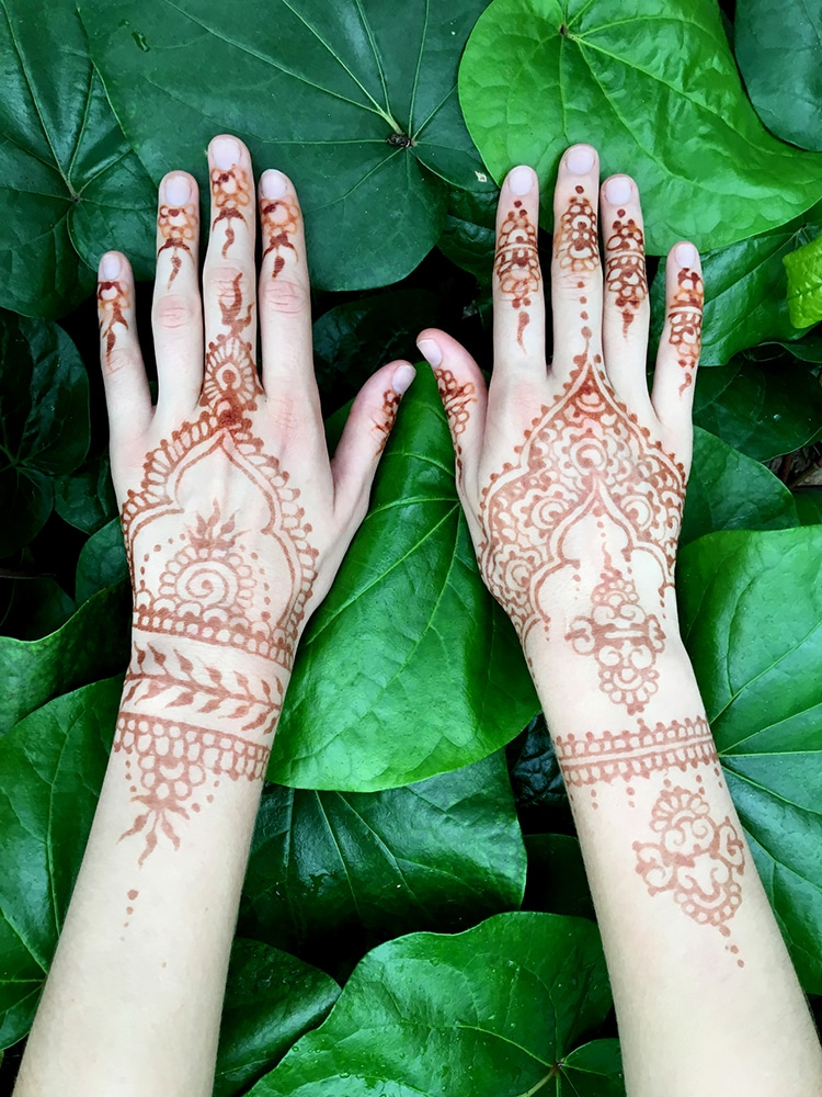 Origins Of Henna Tattoos And How Contemporary Artists Keep Ideas And Designs
