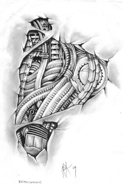 Biomechanical Foot Tattoo By Egypcio On Deviantart Ideas And Designs