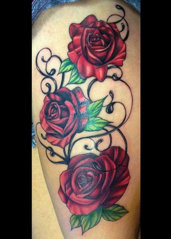 Rose Tattoo By Annyanarchystriker On Deviantart Ideas And Designs