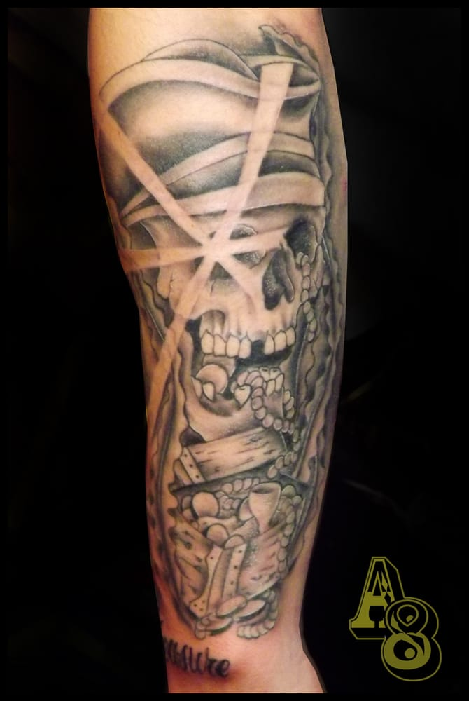 Pirate Sleeve By Chad From Aces N Eights Tattoo Yelp Ideas And Designs